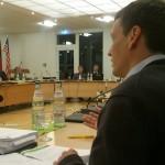 Foto: Thomas Schwenk während der Haushaltsrede