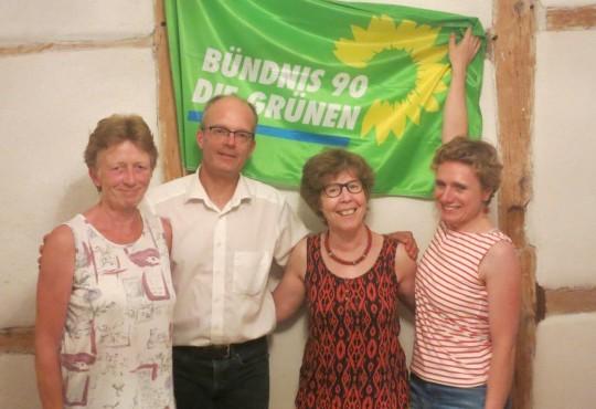 Den neuen Vorstand bilden Petra Groesser, Stefan Geißler, Henriette Katzenstein und Yvonne Bedbur