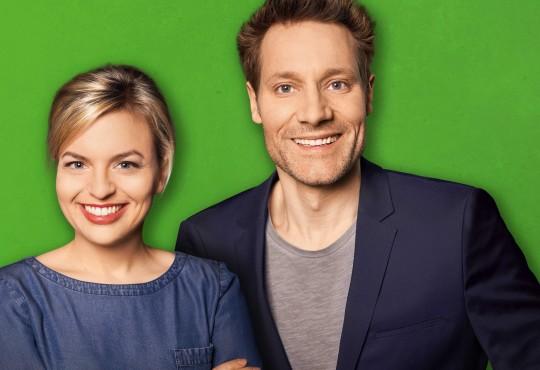 Das Spitzenduo Katharina Schulze und Ludwig Hartmann können sich ünber ein Traumergebnis bei der bayerischen Landtagswahl freuen